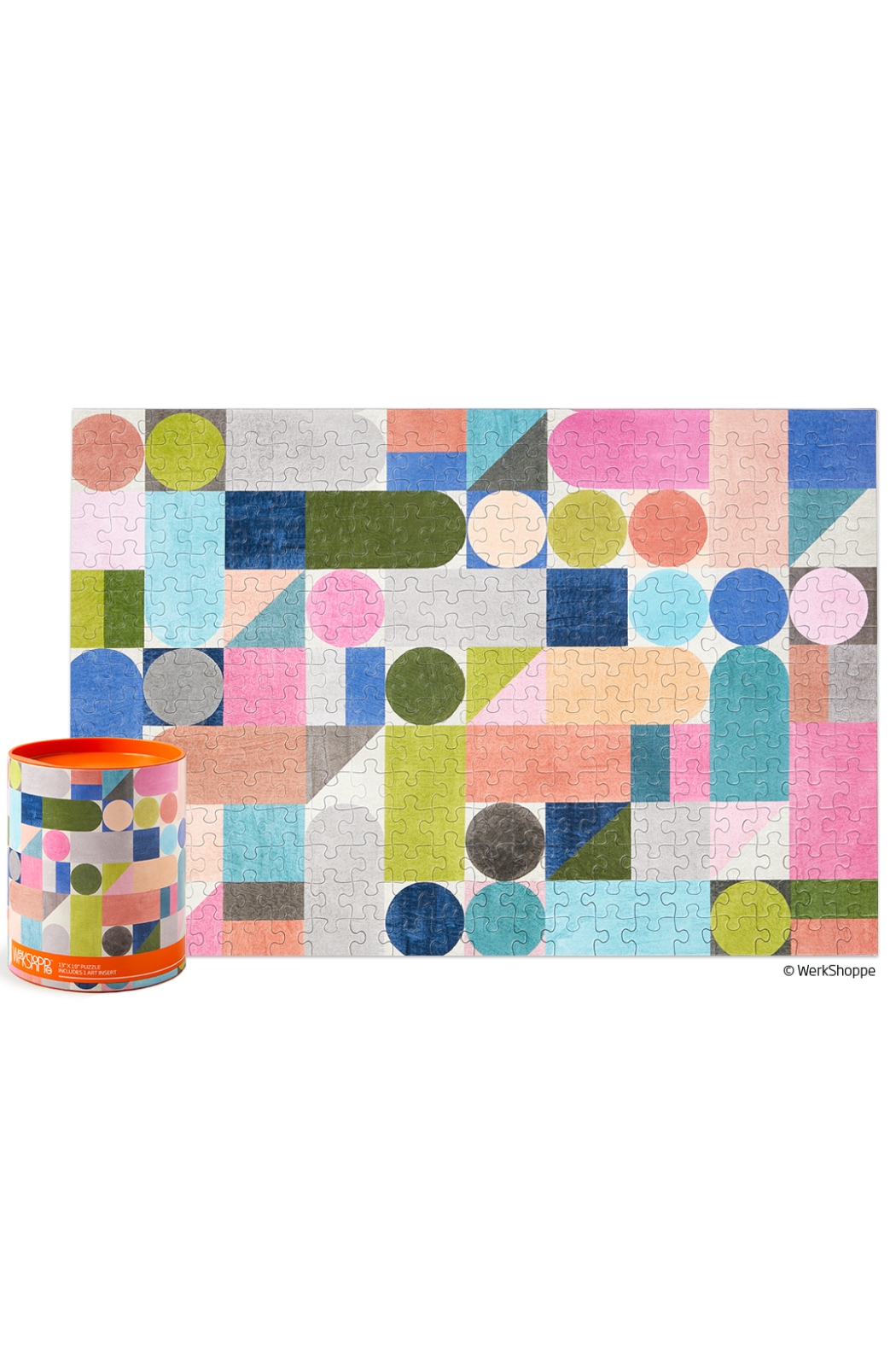 Werk Shoppe 300 Piece Jigsaw Puzzle - Front Cropped Image