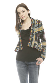 Shoptiques Product: Geometric Print Cardigan