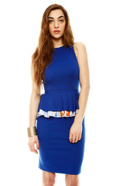 Shoptiques Product: Double Peplum Dress