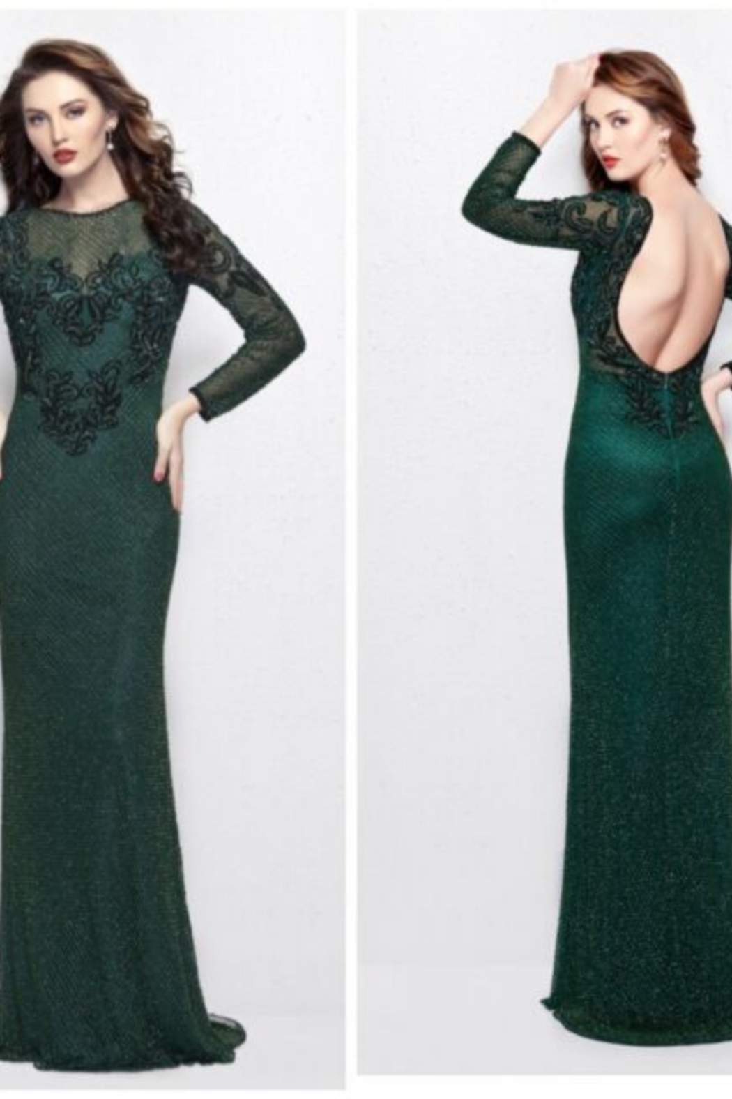 PRIMAVERA COUTU 3051 - Long Dress - Front Cropped Image