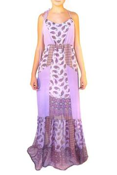 Shoptiques Product: Printed Silk Maxi