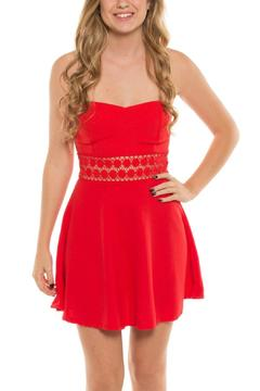 Coveted Clothing Strapless Emily Dress - Product List Image