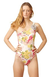 Shoptiques Product: Floral Emily One-Shoulder