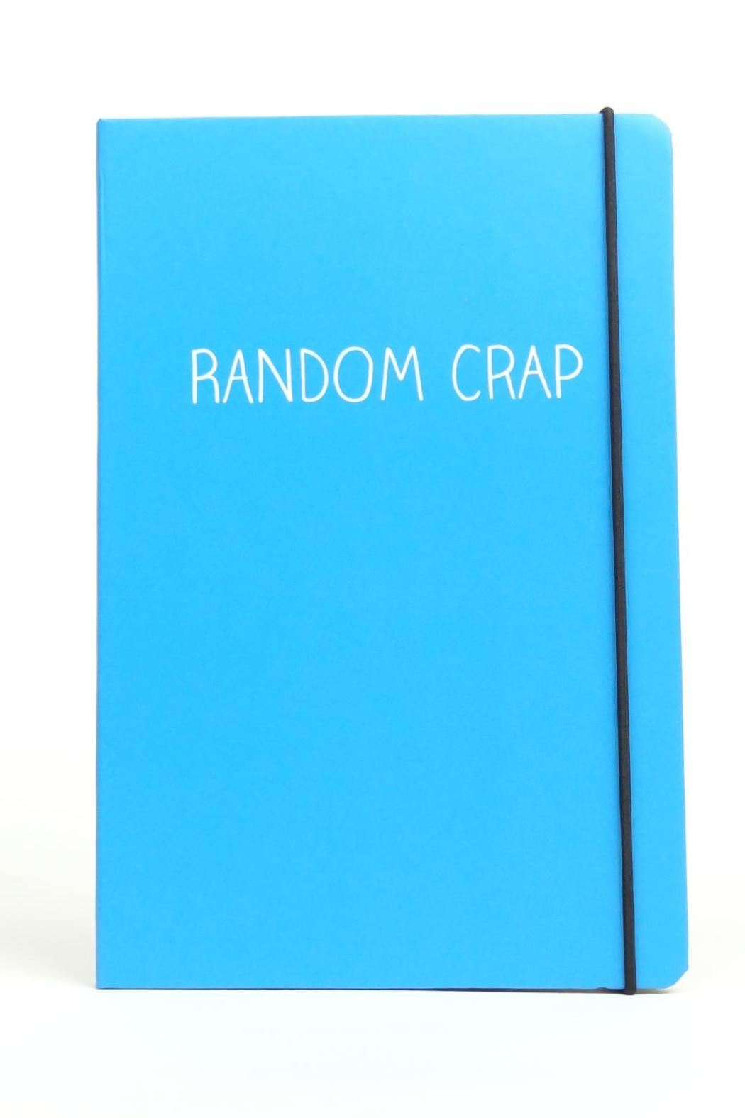 Happy Jackson  Hardcover Lined Notebook - Main Image