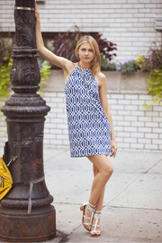 Mud Pie Game Day Dress - Front full body
