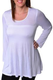 24/7 Comfort Apparel Plus-Size Tunic Top - Product Mini Image