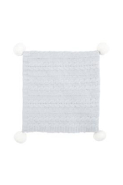The Birds Nest 30X40 CHENILLE BABY BLANKET WITH POMS - Product Mini Image