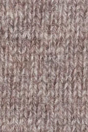 Kinross Cashmere CABLE POMPOM HAT - Side cropped