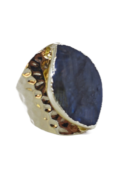 Whitley V LABRADORITE CUFF RING - Product List Image