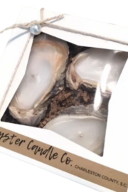 OYSTER CANDLE COMPANY OYSTER 3 PIECE CANDLE GIFT SE - Product Mini Image