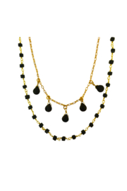 Whitley V DOUBLE STRAND NECKLACE - Product Mini Image