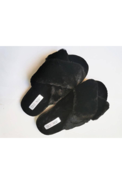Shoptiques Product: FUZZY SLIPPERS