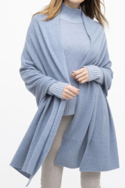 Kinross Cashmere TRAVEL WRAP - Product Mini Image
