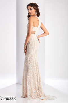 CLARISSE 3122 - Ivory/Nude Prom Gown - Alternate List Image