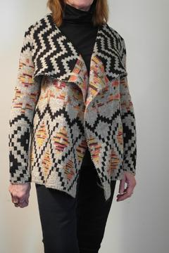 John Fashion  Warm Aztec Knit - Alternate List Image
