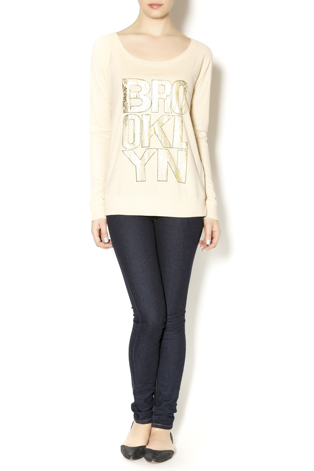 Chaser Brooklyn Baroque Raglan - Front Full Image