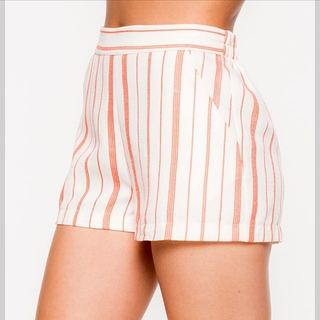 Red Hot Tomato Striped Shorts - Instagram Image