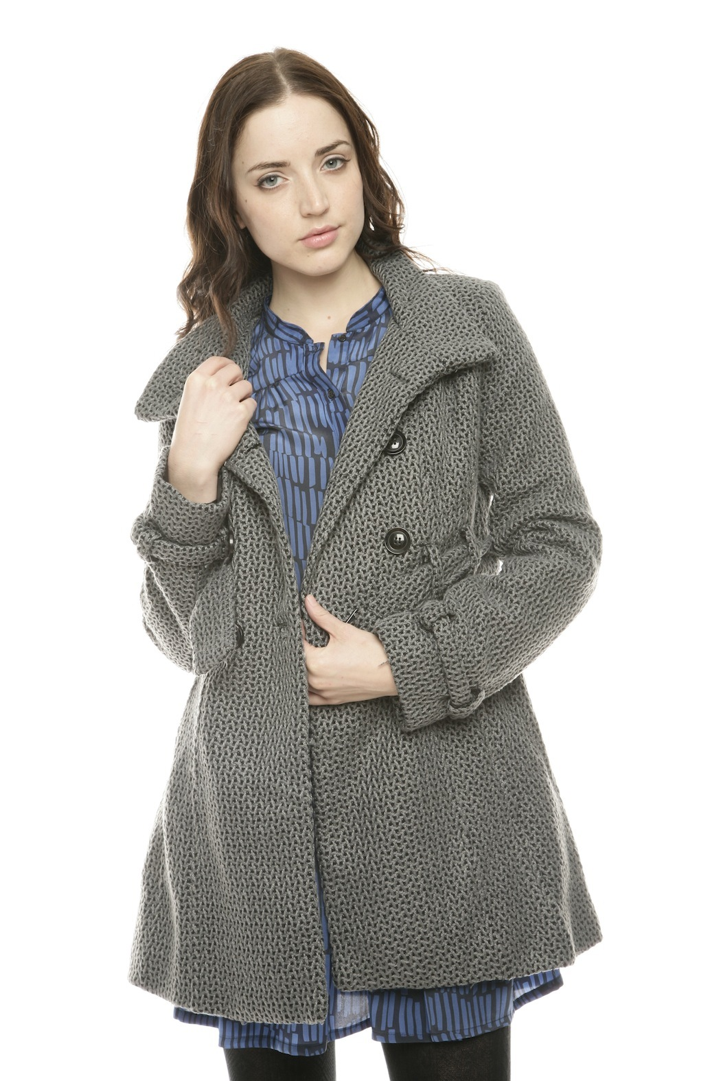 Voice Twill Coat - Front Cropped Image