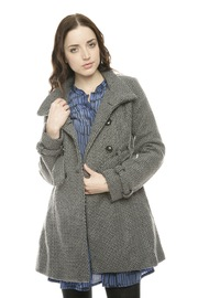 Voice Twill Coat - Front cropped