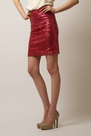 Shoptiques Product: Sequin Mini Skirt - Side cropped