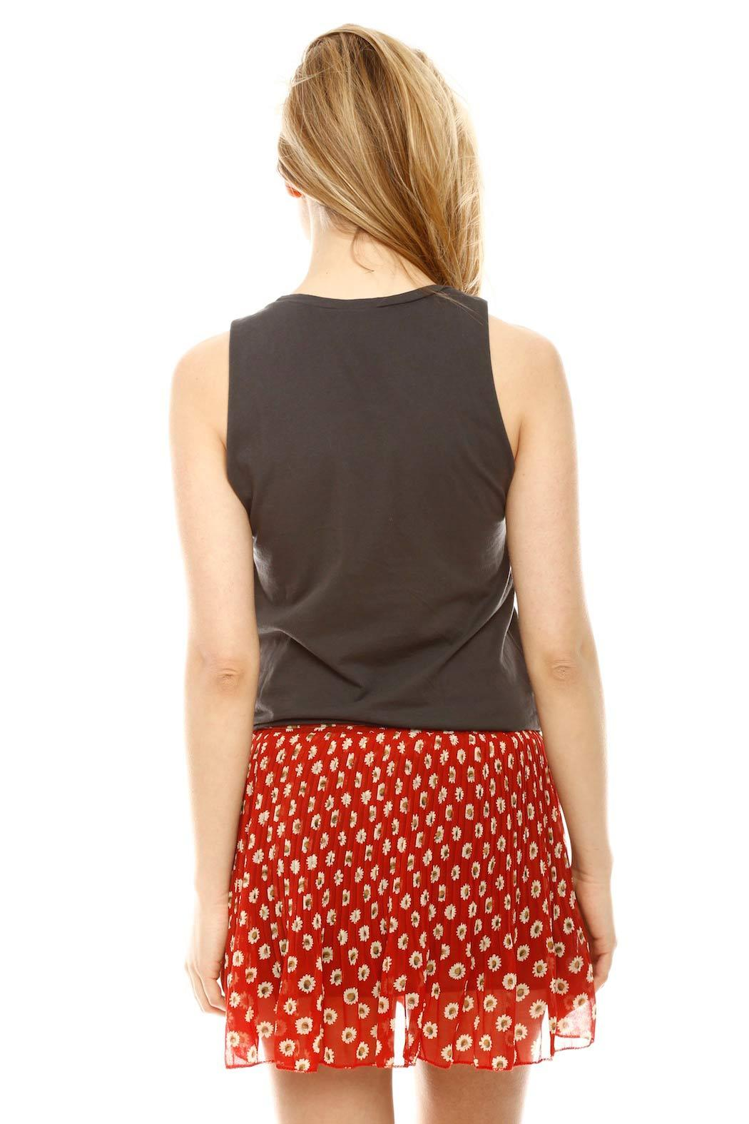 Junk Food Clothing Rude Girl Tank - Back Cropped Image