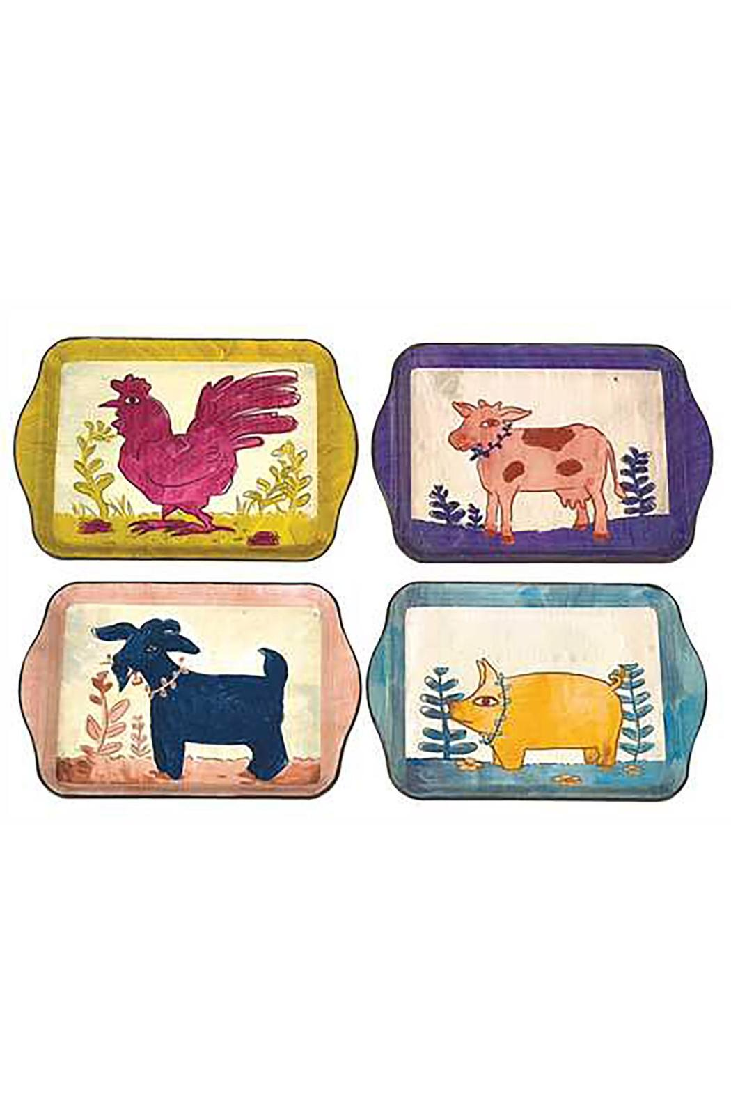 Creative Co-Op Farm Animal Tray from Florida by Decorative Arts ? Shoptiques