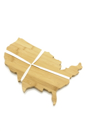 Two's Company United States Cutting Board - Product Mini Image
