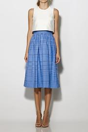 Cynthia Rowley Popover Tea-Length Dress - Product Mini Image