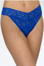 Hanky Panky Original Thong Sapphire - Front cropped
