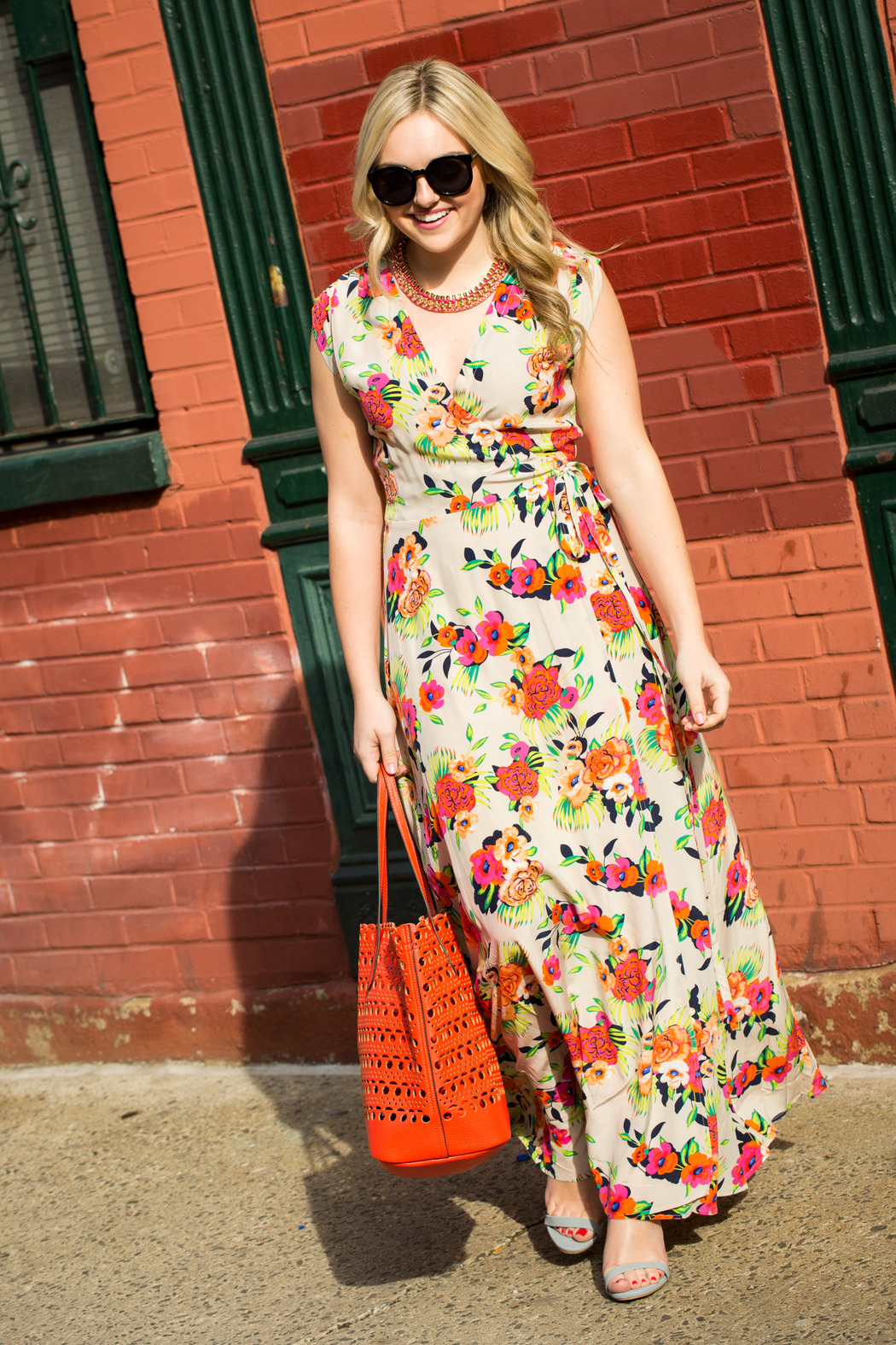 Yumi Kim Swept Away Peonies Maxi From New York City By Wink Shoptiques