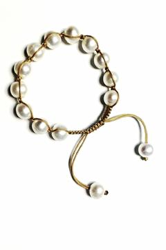 Lily Chartier Pearls Adjustable Pearl Bracelet - Product List Image