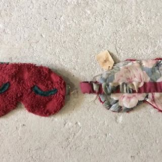 Shoptiques Red Handmade Sleep Mask