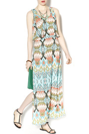 Freeway Aztec Maxi Dress - Product Mini Image
