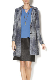 Double Zero Metallic Striped Blazer - Product Mini Image