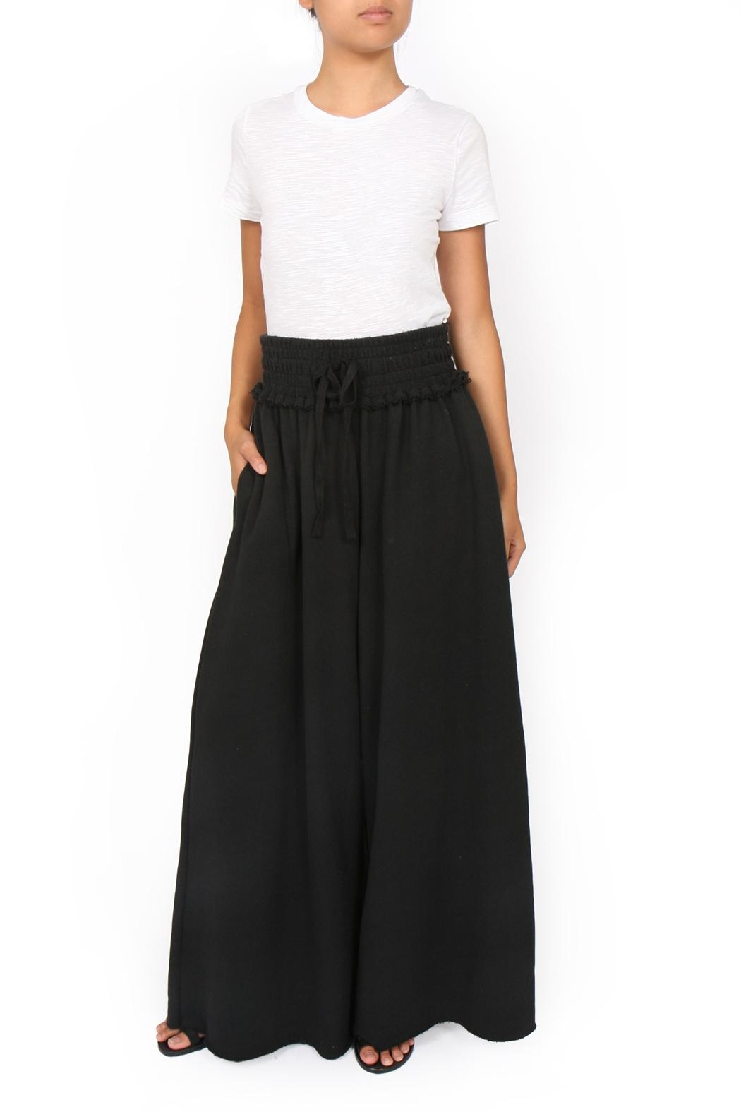 34N 118W Terry Drama Pants - Front Cropped Image