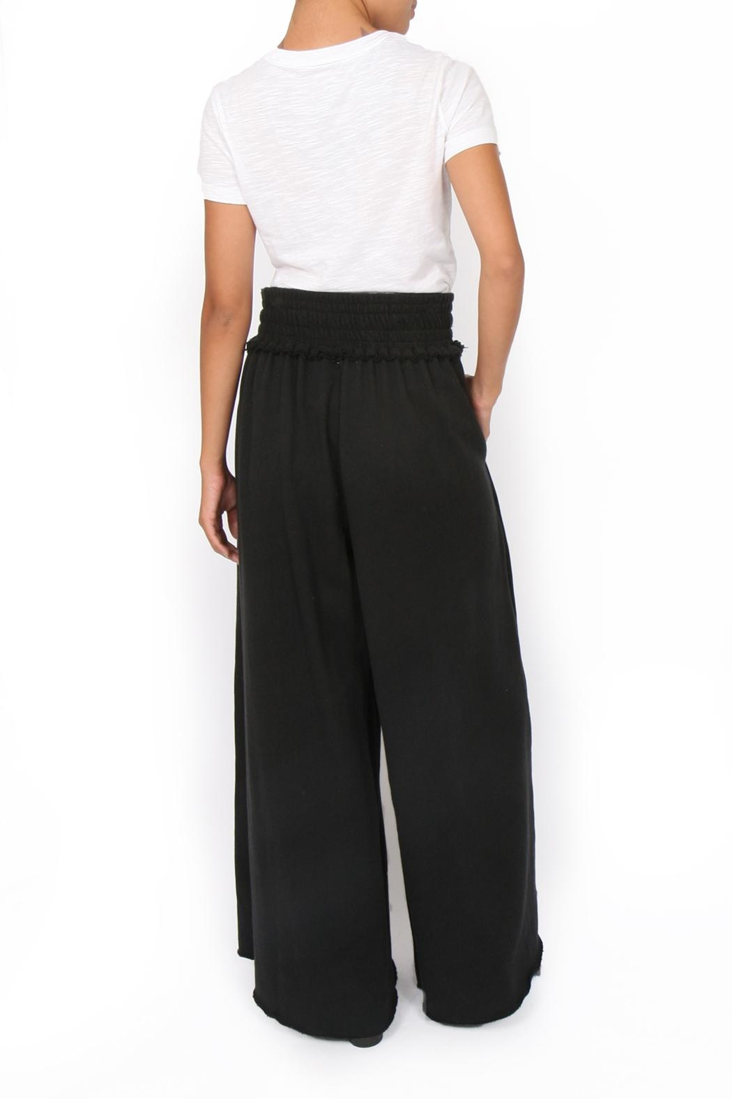 34N 118W Terry Drama Pants - Front Full Image