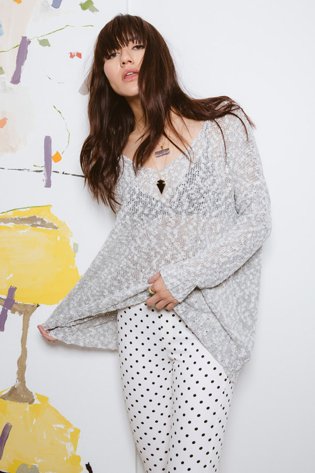 Pinkyotto Oversized Beach Sweater from Nolita — Shoptiques