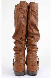 Bamboo Buckled & Belted Knee-High - Back cropped