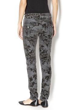Dear John Flocked Velvet Denim Pant - Alternate List Image