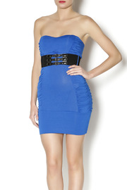 Unbranded Mini Belted Dress - Front cropped