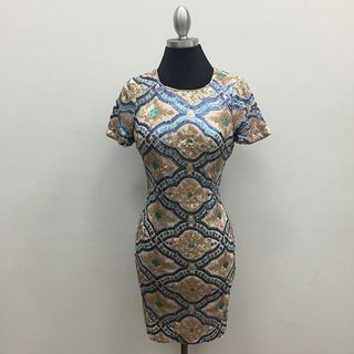 Shoptiques Short Sleeve Holiday Dress