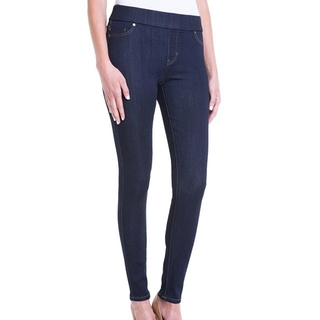 Shoptiques Product:  Indigo Pull On Legging