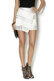 Parker Westin Leather Skirt - Front cropped