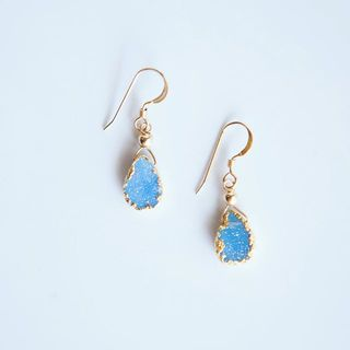 Shoptiques Druzy Earrings