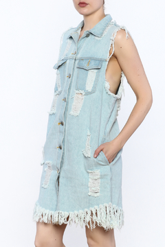 Shoptiques Product: Distressed Denim Dress
