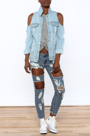 36 POINT 5 Modern Day Denim Jacket - Front full body