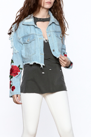 36 POINT 5 Denim Cropped Jacket - Product Mini Image