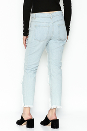 36 POINT 5 Jeans With Fishnets - Back cropped
