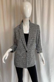 Tribal  3606O-2821 - Lined 3/4 Sleeve Blazer - Product Mini Image