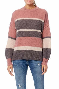 Shoptiques Product: Abbagail Stripe Sweater
